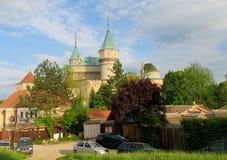 Château de Bojnice en Slovaquie Photo stock