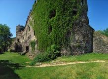 Château de Bolkow, Pologne, l'Europe Photographie stock