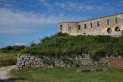 Château de Bornholm Photos libres de droits