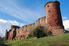 Château de Bothwell, Ecosse Photographie stock