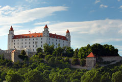 Château de Bratislava Photographie stock libre de droits