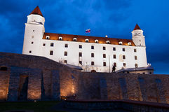 Château de Bratislava, Slovaquie Photographie stock libre de droits