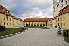 Château de Bratislava, Slovaquie, l'Europe Photo libre de droits