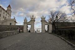 Château de Bratislava, Slovaquie, l'Europe Photographie stock libre de droits