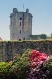 Château de Bricquebec, Normandy, France. Stock Photo