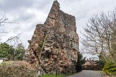 Château de Bridgnorth, Shropshire photographie stock libre de droits