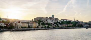 Château de Buda à Budapest Image stock