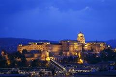 Château de Buda à Budapest, Hongrie Photographie stock libre de droits