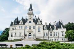 Château de Budmerice dans la république slovaque, thème architectural photographie stock