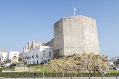Château de bueno d'EL de Guzman, Tarifa, Cadix, Espagne Photos libres de droits
