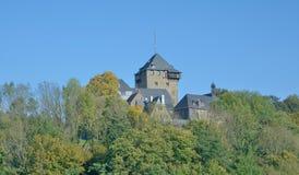Château de Burg, Solingen, terre de Bergisches, Allemagne images libres de droits