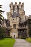Château de Butron, Espagne Images stock