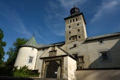 Château de Bytca, Slovaquie Images libres de droits