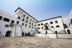 Château de côte de cap d'Elmina - Ghana, Afrique - 11 janvier 2014 Images libres de droits