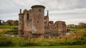 Château de Caerlaverock Photo stock