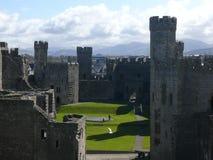 Château de Caernafon, snowdonia, Pays de Galles, R-U Photographie stock