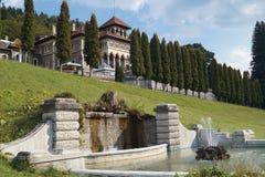 Château de Cantacuzino de Busteni photos libres de droits