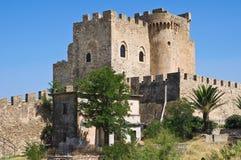 Château de capo Spulico de Roseto La Calabre l'Italie photos libres de droits