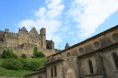 Château de Carcassonne Photo stock