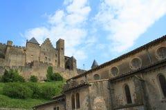 Château de Carcassonne Photo stock