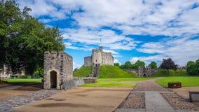 Château de Cardiff Photos stock