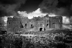 Château de Carew dans Pembrokeshire Photo libre de droits