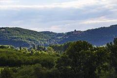 Château de Castelnaud-la-Chapelle Stock Photo
