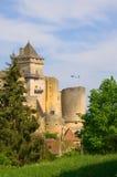 Château de Castelnaud, Perigord, Frankreich Lizenzfreie Stockfotografie
