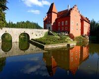 Château de Cervena Lhota Photo stock