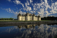 Château de Chambord, Γαλλία Στοκ φωτογραφία με δικαίωμα ελεύθερης χρήσης