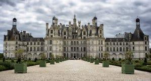 Château de Chambord lizenzfreie stockbilder