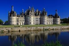 Château DE Chambord, departamentloir-et-cher, Frankrijk Royalty-vrije Stock Fotografie