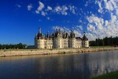 Château DE Chambord, departamentloir-et-cher, Frankrijk Royalty-vrije Stock Afbeeldingen