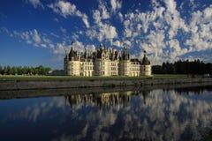 Château de Chambord, França foto de stock royalty free