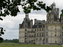 Château de Chambord ( France ). View of Chambord castle in France Stock Images