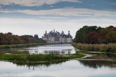 Château de chambord, Loire Valley, France Image stock