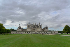 Château de Chambord. The royal Château de Chambord at Chambord, Loir-et-Cher, France, is one of the most recognizable châteaux in the world because of Stock Photography
