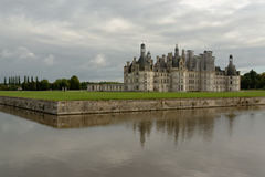 Château de Chambord. The royal Château de Chambord at Chambord, Loir-et-Cher, France, is one of the most recognizable châteaux in the world because of Royalty Free Stock Photography