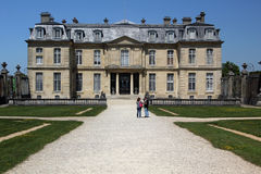 Château de Champs-sur-Marne, France. Château de Champs-sur-Marne is a palace built in 1699 located in Champs-sur-Marne, a commune in the eastern suburbs of Stock Photos