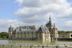Château De Chantilly Photographie stock