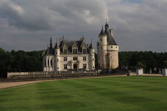 Château de Chenonceau στη Γαλλία Στοκ φωτογραφία με δικαίωμα ελεύθερης χρήσης