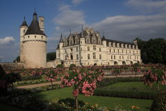Château de Chenonceau, in the Indre-et-Loire département in France royalty free stock photos