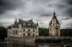 Château de Chenonceau, le Val de Loire, France images libres de droits
