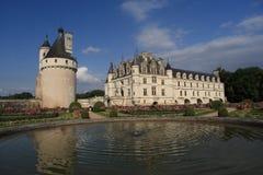 Château de Chenonceau, no département do Indre-et-Loire em França fotos de stock royalty free