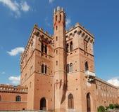 Château de chianti de Brolio, Toscane 04 Photos stock
