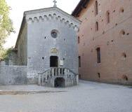 Château de chianti de Brolio, Toscane 11 Photo stock