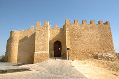 Château de Chiaramonte en Sicile Image libre de droits