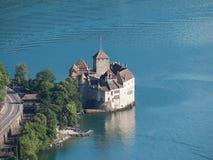 Château de Chillon de ci-avant Image stock