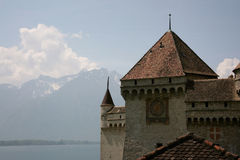 Château de Chillon, Suisse Photo libre de droits