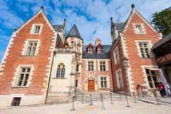 Château de Clos Luce de château, Amboise photographie stock libre de droits